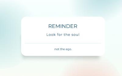 Soul or ego?